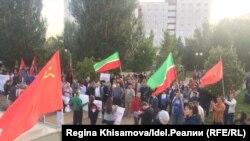 Пенсионная реформа объединила татарских националистов с коммунистами