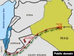 نقشه مسیر رفتوبرگشت جنگندههای اسرائیلی برای بمباران نیروگاه هستهای اوسیراک
