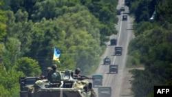 ورود نیروهای دولتی به منطقه دونتسک