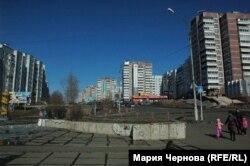 В центре Усть-Илимска