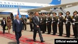 Ильхам Алиев в Нахчыване 3 августа 2009
