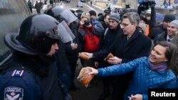 Вікторыя Нуланд на Майдане