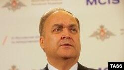 Заместитель министра обороны Российской Федерации Анатолий Антонов.