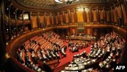 Зала засідань італійського Сенату (архівне фото)