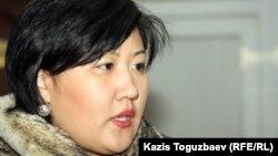 Адвокаты Айгүл Ербөлекова. Алматы, 18 қаңтар 2012 жыл.
