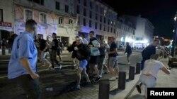 Столкновения в Марселе