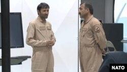 Афганские пилоты на тренинге НАТО.