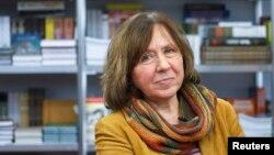 Білоруська письменниця Світлана Алексієвич. Архівне фото