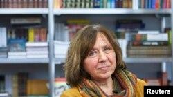 Світлана Алексієвич, лауреат Нобелівської премії з літератури 2015 року (архівне фото)
