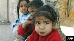 اطفال عراقيون