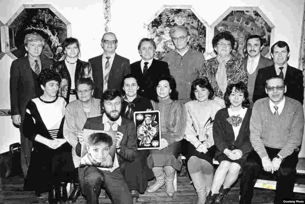 Журналистика факультеты укытучылары.1992 ел