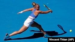 Українська тенісистка Катерина Бондаренко на відкритому чемпіонаті Австралії, 2018 рік