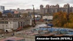 "Строительство стадиона ""Зенит-Арена"""