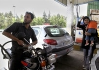 With Iranians limited in the amount of gas they can buy, the black market has thrived (AFP)