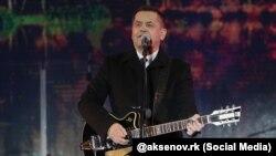 Олександр Расторгуєв на концерті на честь російської анексії Криму