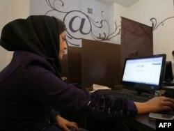 Iranda Internet kafe