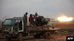 Forcat e regjimit sirian në provincën Alepo, 14 janar 2016