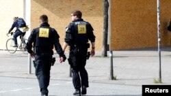 German polisiýasynyň ofiserleri