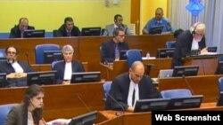 Ramuš Haradinaj, Idriz Balaj i Lahi Brahimaj pred Haškim tribunalom