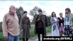 """На здымках фільму """"Глыбоцкая змова"""""""