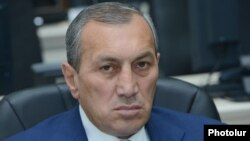Armenia -- Syunik Governor Suren Khachatrian, Yerevan, May 26, 2015.