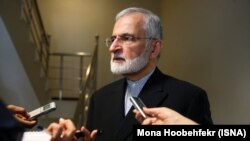 Kamal Kharrazi, a top fireign policy advisor of Iran's leaderKhamenei. File photo