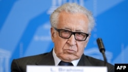 United Nations-Arab League special envoy for Syria Lakhdar Brahimi (file photo)