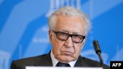 I dërguari i Kombeve të Bashkuara dhe Ligës Arabe për Sirinë, Lakhdar Brahimi.
