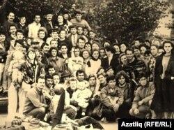 """Союз татарской молодежи """"Азатлык"""" (Башкирия), 1990 г."""