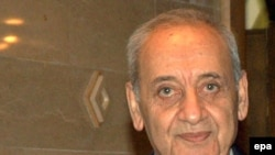 نبیه بری اعلام کرد که روز ۱۳ ماه مه، برای رای گيری مجدد برای انتخاب رئيس جمهوری اين کشور انتخاب شده است(عکس:epa)