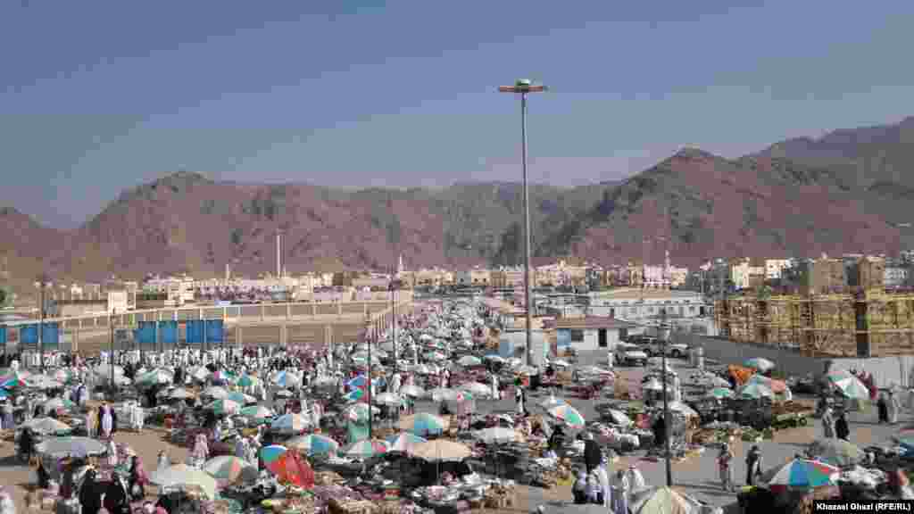 Mount Uhud near Medina City