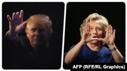 Hillary Clinton dhe Donald Trump