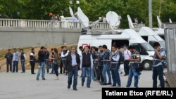 Turkey - Intensive security measures in Taksim Square, Istanbul