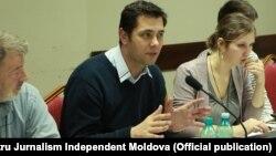 Ghenadie Brega la un curs de instruire în jurnalism civic organizat de Centrul pentru Jurnalism Independent Moldova