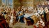Франсуа де Труа. Пир Дидоны и Энея. 1702-1703