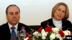 В переходном правительстве Израиля Ципи Ливни сменила Сильвана Шалома на посту главы министерства иностранных дел