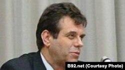 Лидерот на Демократската партија на Србија Воислав Коштуница