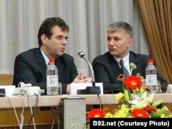Zoran Đinđić i Vojislav Koštunica - fotografija iz arhive