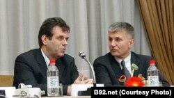 Vojislav Koštunica i Zoran Đinđić, arhiv, foto: B92