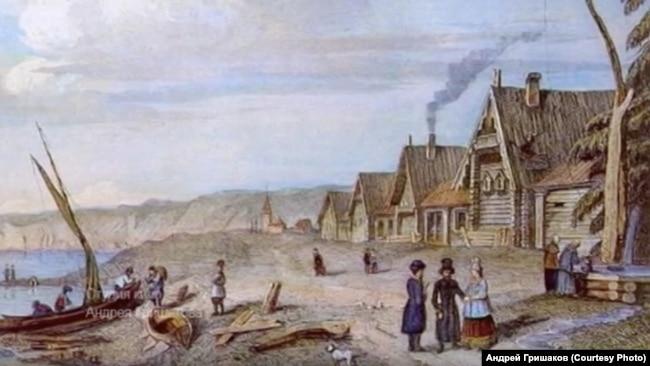 Село Кежма. 18-й век
