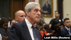 Bivši specijalni savjetnik Robert Mueller u svjedočenju 24. jula 2019.