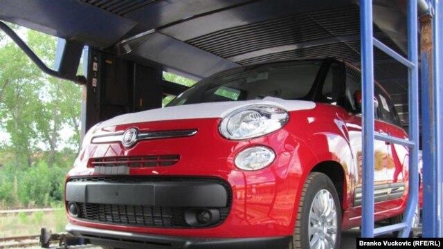 """Automobili kompanije """"Fiat"""" proizvedeni u Kragujevcu"""