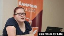 """Ana Kotur Erkić, novinarka, aktivistica i dobitnica nagrade """"Šampionka inkluzije"""""""
