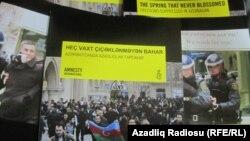 Amnesty İnternational Beynəlxalq insan haqlarını müdafiə təşkilatı Azərbaycanda əsas azadlıqların vəziyyətindən bəhs edən xüsusi hesabatı