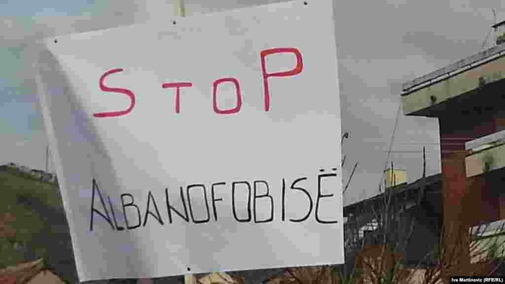 Protesti u Preševu, 21. januar 2013.