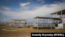 Курортный сезон в Оленевке. Крым, июль 2018 года