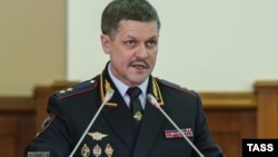 Former Moscow police chief Anatoly Yakunin (file photo)