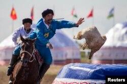 Көкпардан Азия чемпионаты. Астана, 12 қыркүйек 2013 жыл.