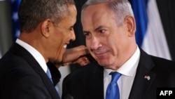 Barack Obama i Benyamin Netanyahu
