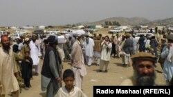 تعدادی از مهاجرین افغان در پاکستان